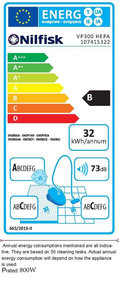 Nilfisk Vacuum Cleaner VP300 Hepa Basic #Demo
