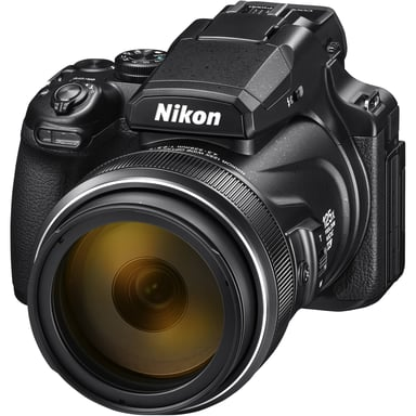 Nikon P1000 125X Zoom Svart