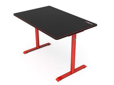 Arozzi Arena Leggero Gaming Desk Punainen