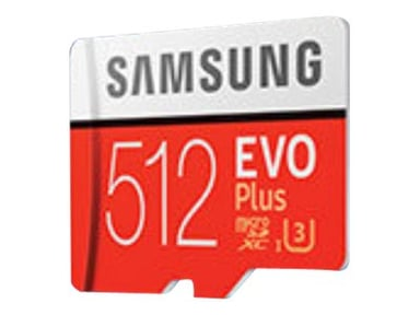 Samsung EVO Plus 512GB mikroSDXC UHS-I minneskort