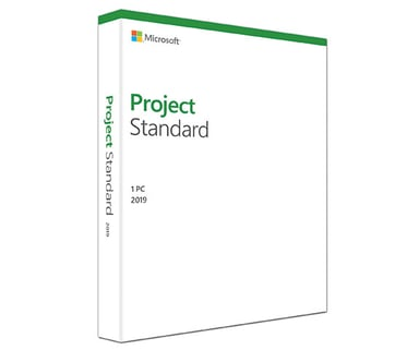 Microsoft Project Standard 2019 Win Svensk Medialess null