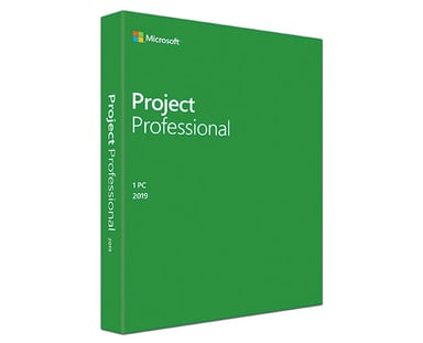 Microsoft Project Professional 2019 Win Engelsk Medialess null