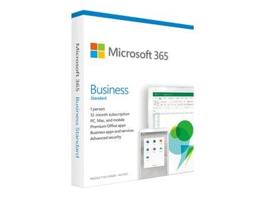 Microsoft Office 365 Business Premium Engelsk 1 år Box null