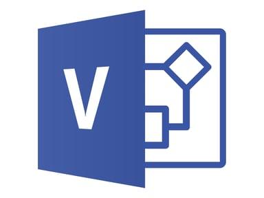 Microsoft Visio Standard 2019 Win Fin Medialess