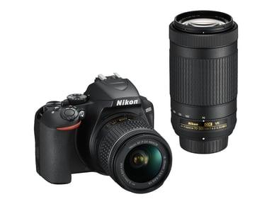 Nikon D3500 + AF-P DX 18-55 f/3,5-5,6G VR + AF-P 70-300mm f/4,5-6,3 VR