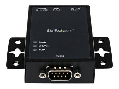Startech 1 Port RS232 Serial to IP Ethernet Converter / Device Server