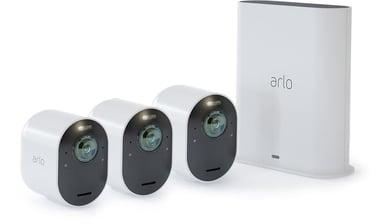 Arlo Ultra Smarthub & 3 Cameras