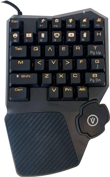 Voxicon Professional Gaming Pad Met bekabeling Zwart