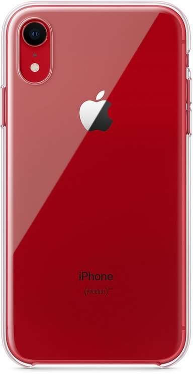 Apple Back cover for mobile phone iPhone Xr Transparant