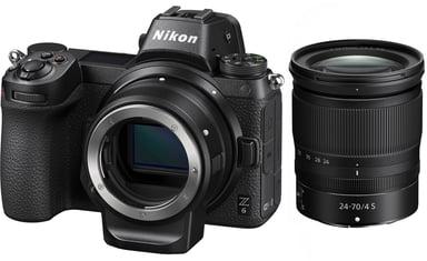 Nikon Z6 + Nikkor Z 24-70mm f/4 S + Mount Adapter FTZ null