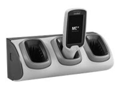 Zebra Laddstation HD Non-Locking 3-Slot Utan Powersupply - MC18