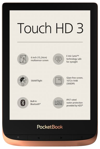 PocketBook Touch HD 3 #Demo