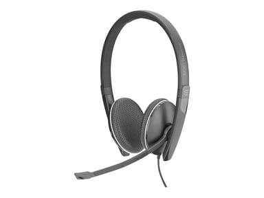 EPOS | SENNHEISER ADAPT SC165 Stereo Headset USB/3,5MM Svart Vit
