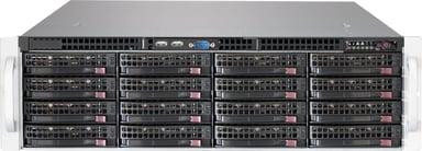 Supermicro SC836 BE1C-R1K03B 1,000W Svart