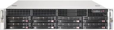 Supermicro SC825 TQ-R720LPB 720W Svart