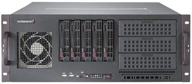 Supermicro SC842 XTQ-R606B 600W Svart