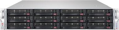 Supermicro SC826 BE1C4-R1K23LPB 1,200W Svart