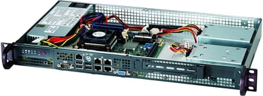 Supermicro SC505 203B 200W Svart