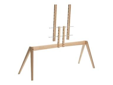 """Vogel´s Next OP2 TV Floor Stand 50-77"""" Wood"""