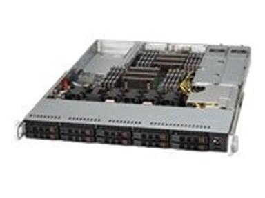 Supermicro SC116 TQ-R700WB 750W Sort