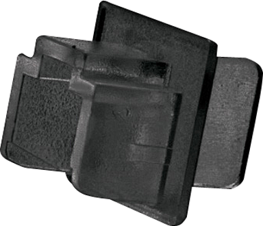 Lindy RJ45 Støvbeskyttelse 10-Pak Sort