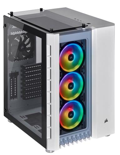 Corsair Crystal Series 680X RGB White Hvid