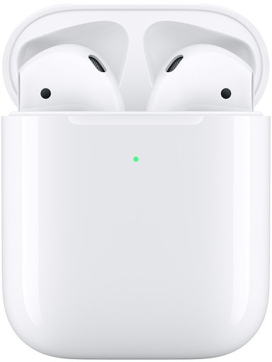 Apple AirPods (2nd Gen) Med Trådløst Ladeetui Hvit