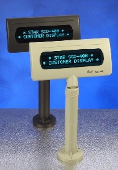 Star SCD122U-display