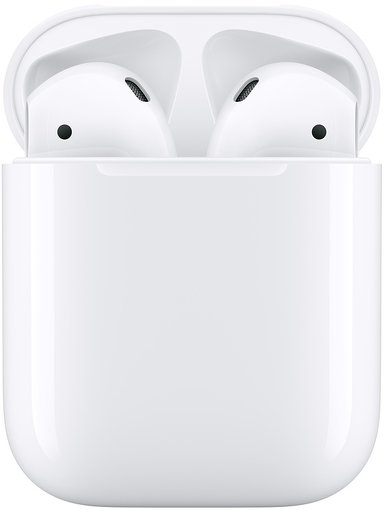 Apple AirPods (2019) with Charging Case Hvit