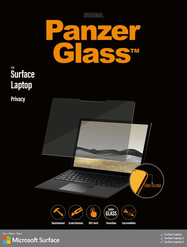 Panzerglass Edge-to-Edge Privacy Microsoft Surface Laptop/Laptop 2