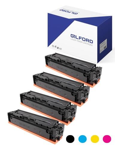 Gilford Värikasetti Kit (B/C/m/Y) 203X 3.2K/2.5K