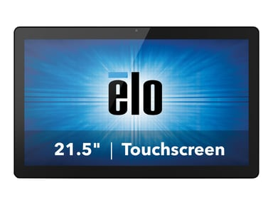 """Elo I-Series 2.0 Standard 21.5"""" Android 7.1 3/32GB 10-Touch Black"""