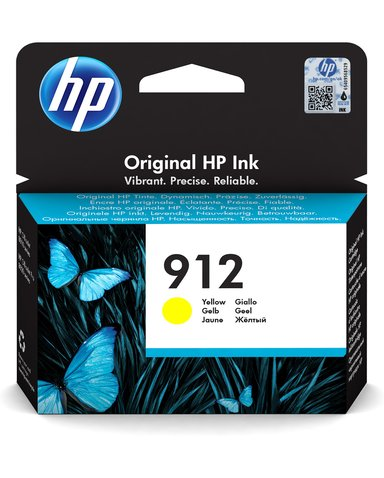 HP Bläck Gul 912 300 Pages - OfficeJet Pro 8022/8024/8025