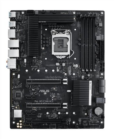 ASUS Pro Ws C246-Ace ATX Bundkort
