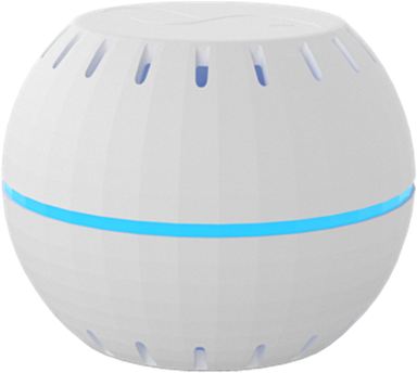 Shelly WiFi thermometer and humidity sensor