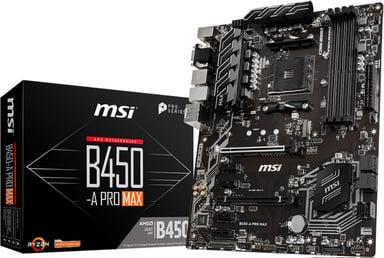 MSI B450-A PRO MAX ATX Moderkort