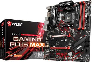 MSI B450 GAMING PLUS MAX ATX Moederbord