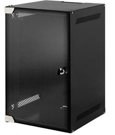 """Toten Wall Cabinet 4U 10"""" 28X31 Glass Door"""