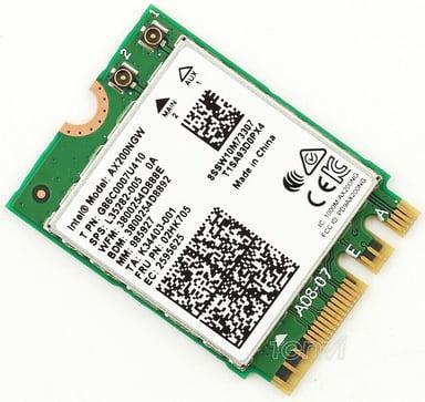 Intel Wi-Fi 6 AX200 2230 null