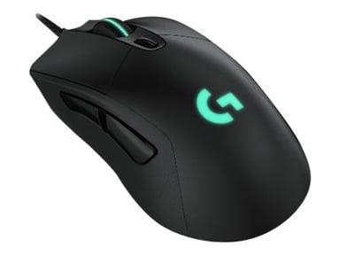 Logitech Gaming Mouse G403 HERO 16,000dpi Mus Kablet Svart