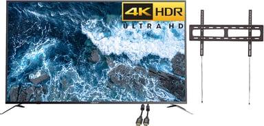 """Voxicon VXE355U 55"""" 4K ELED Smart Netflix HDR Konferencepakke"""