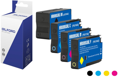 Gilford Muste Kit (C/M/Y/B) Dh-953Xlc - Oj Pro 8710/8720/8730/8740
