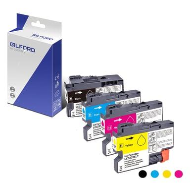 Gilford Bläck Kit (C/M/Y/B) - 3239Xlbk 6K - LC3239xlbk