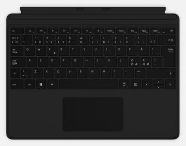 Microsoft Surface Pro X Type Cover Svart