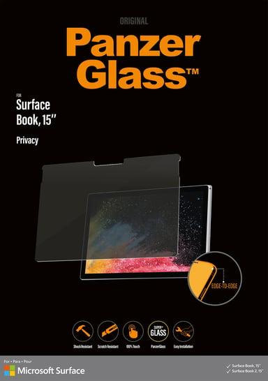 "Panzerglass Privacy Microsoft Surface Book/Book 2 15"""