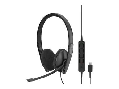EPOS | SENNHEISER ADAPT SC160 USB-C Stereo Headset Musta
