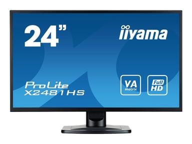 """Iiyama ProLite X2481HS-B1 24"""" 1920 x 1080 16:9"""