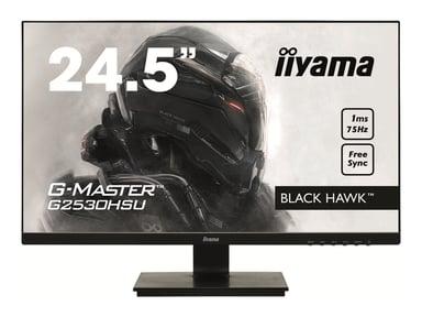 "Iiyama G-MASTER Black Hawk G2530HSU-B1 24.5"" 1920 x 1080 16:9"
