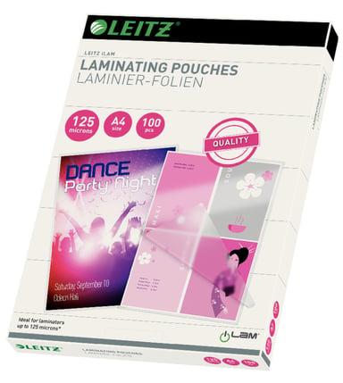 Leitz Lamineringsficka 125mic A4 100st