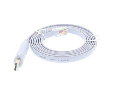 Direktronik USB-A-RJ45 1,8m 4-pins USB type A RJ-45 Grå